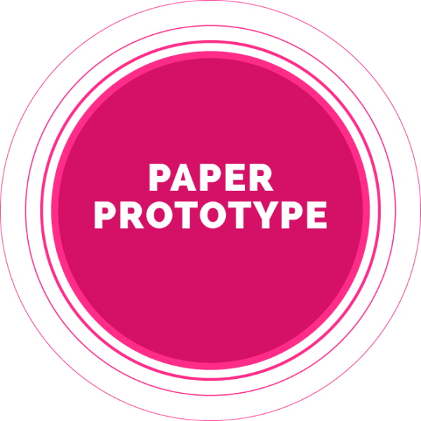 Book It Presentation paper prototype