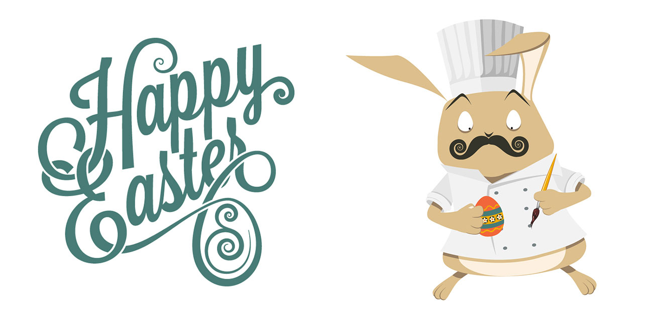 Happy Easter Bunny Chef