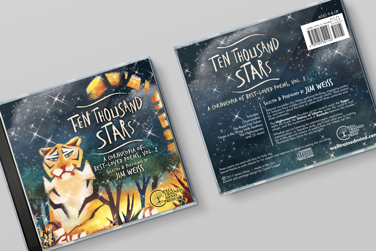 WTM Ten Thousand Stars CD Front Back 1200×800